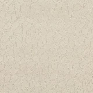 B861 Ivory/ Foliage Leaves Durable Microfiber Upholstery Fabric