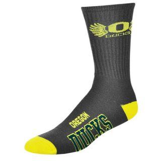 For Bare Feet College Big Logo Socks   Mens   Accessories   Marquette Golden Eagles   Gold/Multi