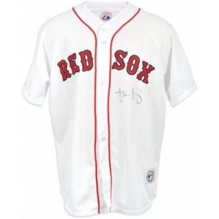 MLB - Jacoby Ellsbury Autographed Jersey  Details: Boston Red Sox, Majestic, Replica
