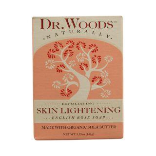Dr. Woods Bar Soap Skin Lightening English Rose   5.25 oz