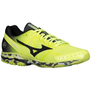 Mizuno Wave Rider 17   Womens   Running   Shoes   Lime Punch/Pansy/Electric