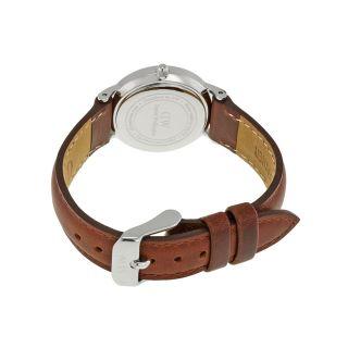 Daniel Wellington Classy White Dial Brown Leather Ladies Watch 0920DW