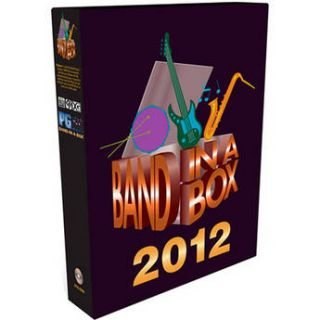 PG Music Band In a Box Pro 2012 Upgrade from 2010 or BBE20694