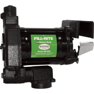 Fill-Rite Biodiesel Transfer Pump — 20 GPM, 115V AC, Model# BD700V