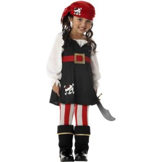 Precious Lil' Pirate Toddler Halloween Costume, Size 3T 4T