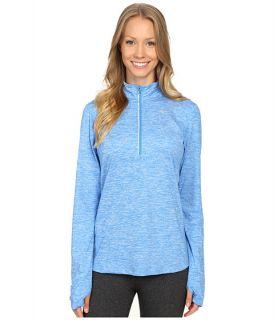 Nike Dri FIT™ Element Half Zip Light Photo Blue/Heather/Reflective Silver