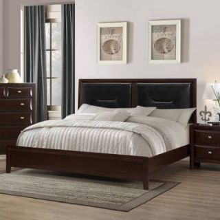 Coaster Company Cloverdale Collection Queen Bed, Cappuccino