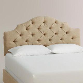 Linen Sabine Upholstered Bed
