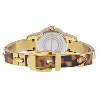 ESQ Nova Silver Dial Tortoise Steel Bracelet Ladies Watch 07101423