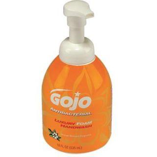 GOJO 18 oz. Pump Bottle of Luxury Foam Antibacterial Handwash (4/case)