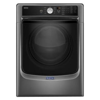 Maytag 7.4 cu. ft. Electric Dryer with Steam in Metallic Slate, ENERGY STAR MED5500FC