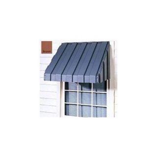 East Iowa Plastics A96BR Window Awning 96 inch Brown