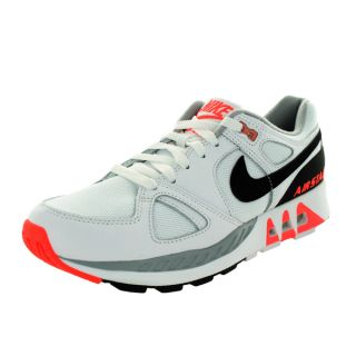 Nike Mens Air Stab White/Black/Hot Lava Running Shoe   19160803