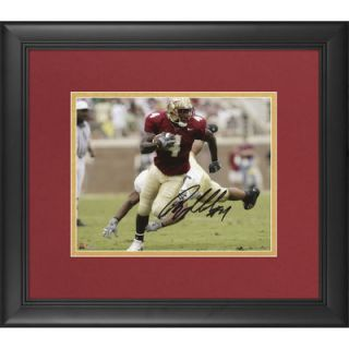 Anquan Boldin Florida State Seminoles  Authentic Framed Autographed 8 x 10 Running Photograph