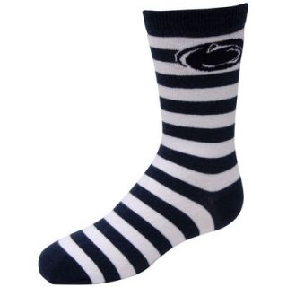 Penn State Nittany Lions For Bare Feet Youth Rugby Stripe Socks