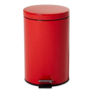Rubbermaid Commercial Products Medi Can 3.5 Gal. Red Step On Medical Trash Can FGMST35EPLRD