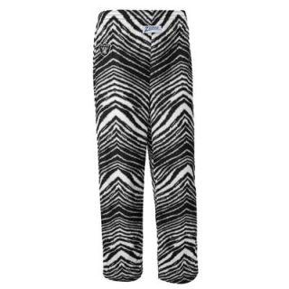Oakland Raiders Zubaz Youth Allover Print Pant – Black/Silver