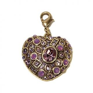 """Heidi Daus """"State of the Heart"""" Crystal Charm   7791331"""