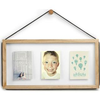 Umbra Corda Multi Photo Display for 11x14 Photo or 8x11 Floater, Natural 311203 390