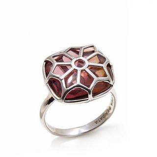"""La dea Bendata """"Finestra"""" Murano Glass Sterling Silver Ring   7927894"""