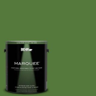 BEHR MARQUEE 1 gal. #P380 7 Luck of the Irish Semi Gloss Enamel Exterior Paint 545301