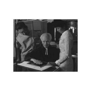 Nurse Aiko Hamaguchi, Harry Sumida And Michael Yonemetsu [I.E., Yonemitsu] in Hospital Print (Unframed Paper Print 20x