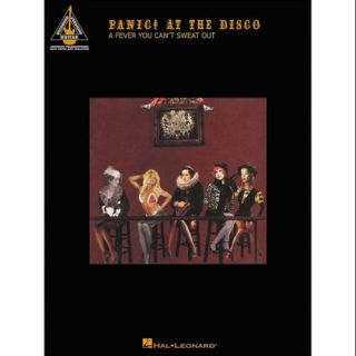 Hal Leonard Panic! At The Disco   A Fever You Can't Sweat Out Tab Book