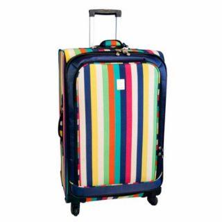 "Jenni Chan Multi Stripes 360 Quattro 28"" Luggage, Multi Stripes"