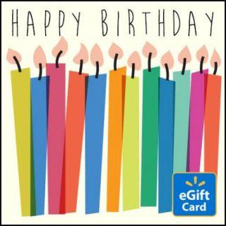 Happy Birthday  eGift Card
