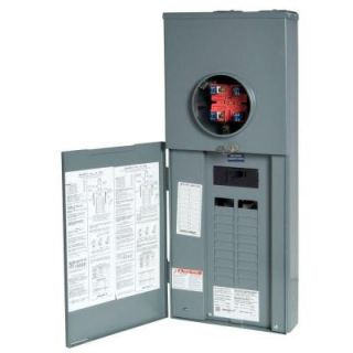 Square D Homeline 150 Amp 20 Space 40 Circuit Outdoor Overhead/Underground Service Main Breaker CSED RC2040M150CH
