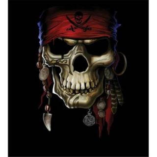 Hot Stuff 1976 16x20 SD Skull Pirate Poster