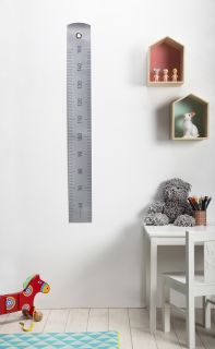 Grow up Height gauge   50 to 150 cm Grey by Pa Design