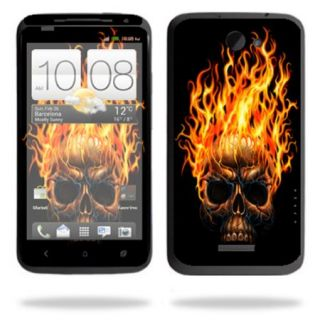 Mightyskins Protective Skin Decal Cover for HTC One X+ Plus Cell Phone AT&T wrap sticker skins Hot Head