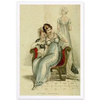 Evening Dress IV Framed Painting Print by The Art Cabinet