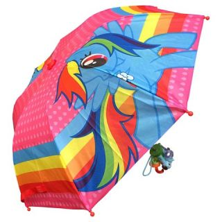 Girls My Little Pony Rainbow Dash Compact Umbrella