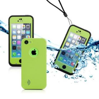 GEARONIC Newest Durable Waterproof Shockproof Dirt Snow Proof Case Cover for iPhone SE & 5C
