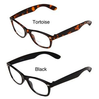 Hot Optix Mens Vintage inspired Full Frame Bi focal Reading Glasses