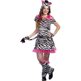 Zebra Cutie Teen Halloween Dress Up / Role Play Costume