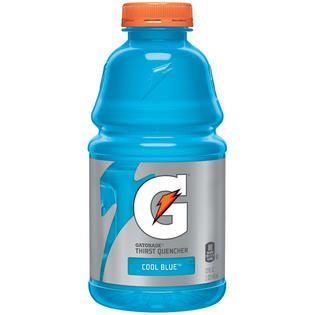 Gatorade Cool Blue Sports Drink 32 FL OZ PLASTIC BOTTLE   Food