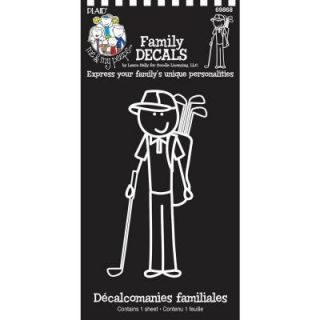 Me and My Peeps Golf Dad Auto Decal 69868