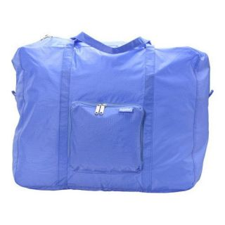 baggallini ZSM158PW Zipout Shopping Medium Ripstop Travel Bag in Periwinkle