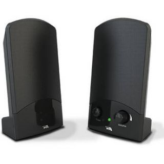 Cyber Acoustics CA 894 Portable 2 Piece 2.0 Speaker System