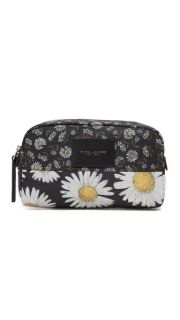 Marc Jacobs B.Y.O.T Mixed Daisy Flower Large Cosmetic Case