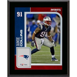 Jamie Collins New England Patriots  Authentic 10.5 x 13 Sublimated Player Plaque