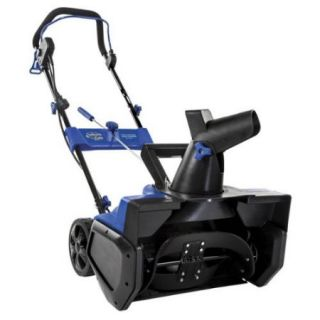 21 in. Ultra Electric Snow Thrower in Blue and Black