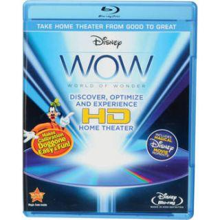 Disney WOW  WOW: World of Wonder (Blu ray) 504006