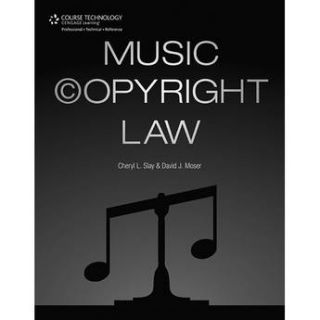 ALFRED  Book: Music Copyright Law 54 1435459725