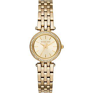 Michael Kors Watches Petite Darcy Three Hand Stainless Steel Watch