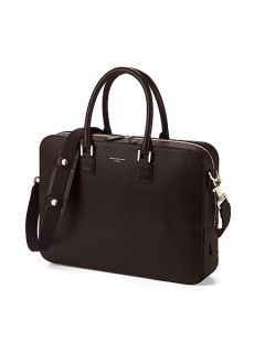 Aspinal of London Small mount street shoulder bag Brown