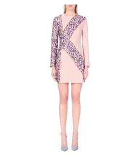 MARY KATRANTZOU   Long sleeved jacquard dress